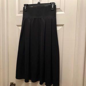 ASOS Black Skater Skirt